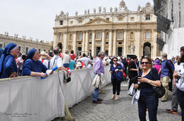 Photo of Rome Papal Audience Ticket at Vatican City Nos fuimos contentos