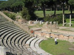 This was the theater where plays were produced in ancient times., Gail A - March 2009