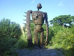 Giant robot from one of the animations on the Tokyo Ghibli Museum tour., Simon C - September 2007