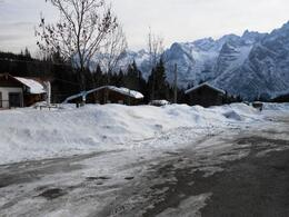 Photo of Venice Dolomite Mountains Small Group Day Trip from Venice Snow 2