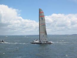 Photo of San Diego Dennis Conner's Sailing Experience Aboard America's Cup Yachts Stars & Stripes, America's Cup yacht
