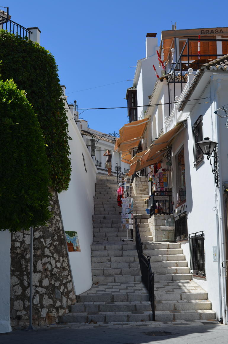 Steps in old town - Malaga