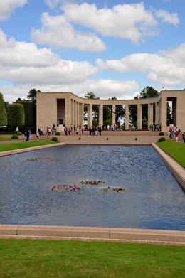 Photo of Caen D-Day Tour Including Guided Visit of the Mémorial de Caen Museum, Lunch and D-Day Landing Beaches The American Memorial