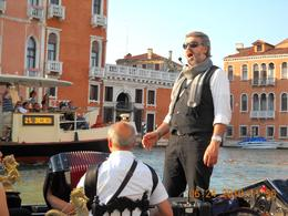 Photo of Venice Venice Gondola Ride and Serenade with Dinner The entertainment