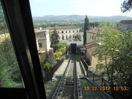 The train going down from the mountain , Leonila C - October 2012