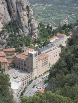 Photo of Barcelona Montserrat and Cava Trail Small Group Day Trip from Barcelona The view of Montserrat from the top