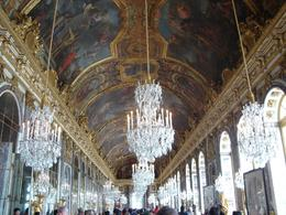 The Hall of Mirrors is the most beautiful room in Versailles!, Amanda W - October 2007