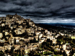 Photo of   View of Gordes from afar