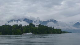 Photo of Lucerne Mount Pilatus Summer Day Trip from Lucerne Water, land and sky from Lake Lucerne