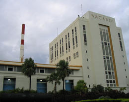 Photo of   Bacardi Factory in San Juan, Puerto Rico