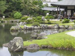 Beautiful garden and temple. - August 2009
