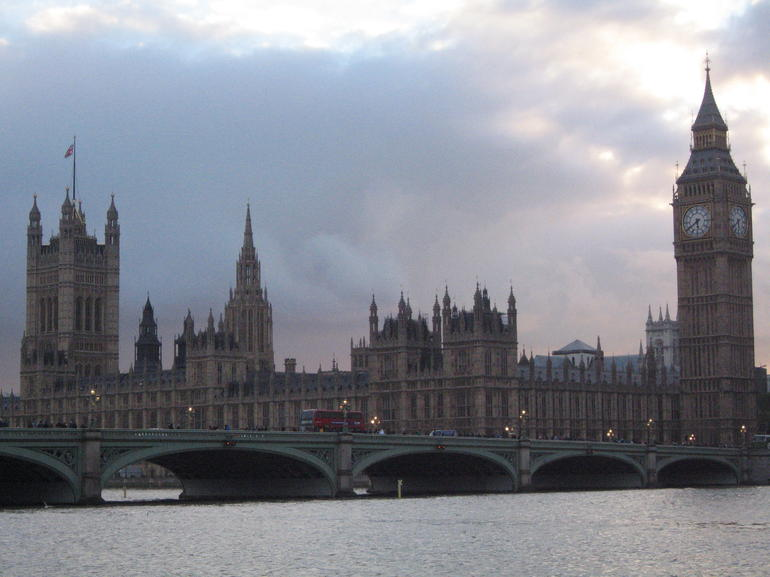 Big Ben and the House of Parliaments - London