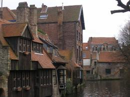 Great view of the buildings in Bruges - June 2011
