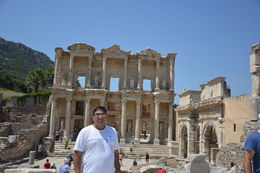 The famous Library of Ephesus. , khanta - August 2015