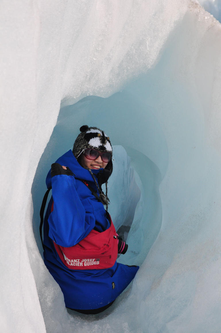Going through! - Franz Josef & Fox Glacier