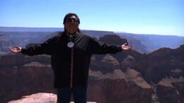 On the edge of the grand canyon - July 2011