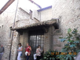 The birthplace of St. Francis of Assisi , Leonila C - October 2012