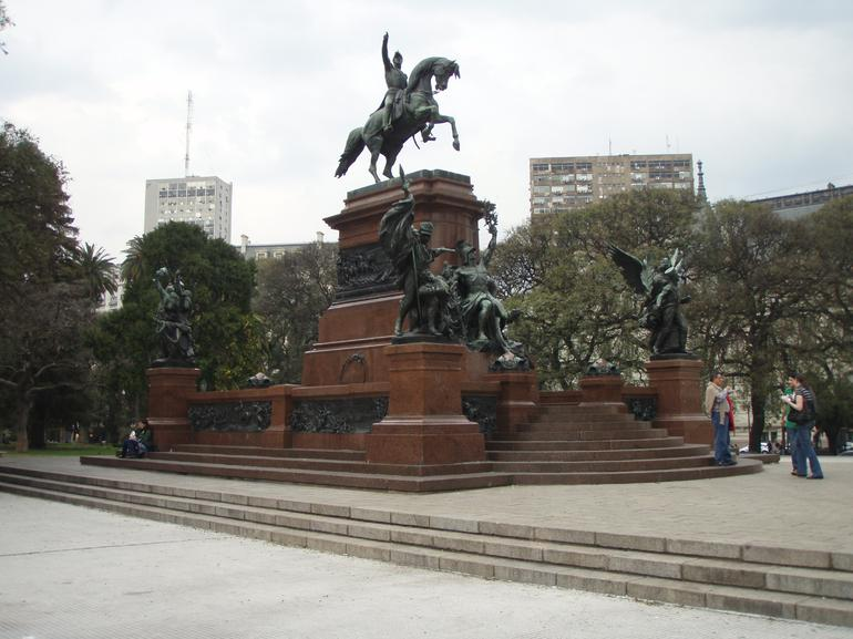 Meeting place, Buenos Aires bike tour - Buenos Aires