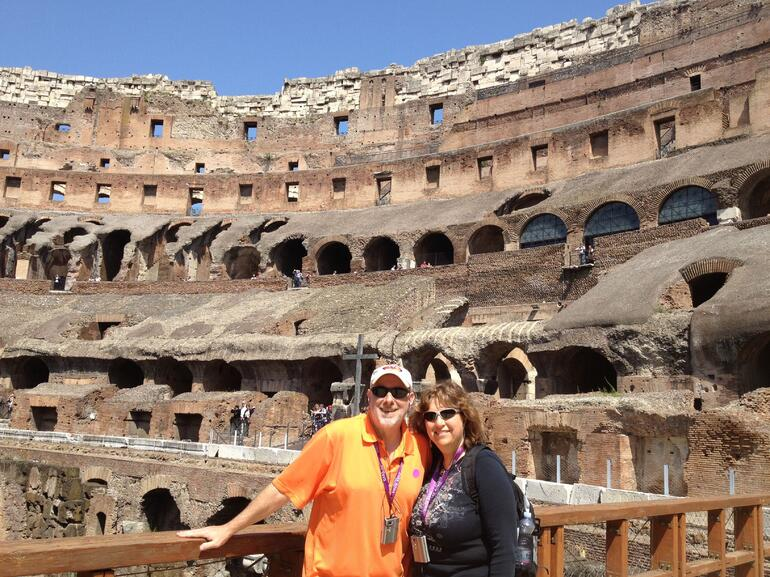 On the Colosseum floor - Rome