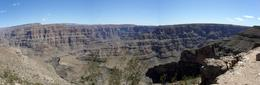 Photo of Las Vegas Grand Canyon West Rim Combo: Luxury SUV, Helicopter and Boat Panorama of the Canyon at Quatermaster Point