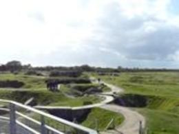 Photo of Paris Normandy D-Day Battlefields and Beaches Day Trip Pont du Hoc Landscape