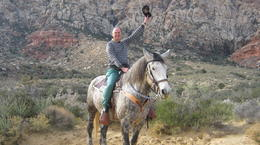 Photo of Las Vegas Morning Maverick Horseback Ride with Breakfast Snickers