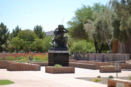 Photo of Phoenix Small-Group Tour: Deluxe Phoenix and Scottsdale Day Trip Solider Memorial
