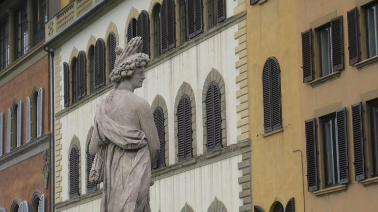 Statue in Florence - Florence