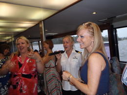 Swan River Wine Cruise: The entertainers were top class and knew how to make every one comfortable and enjoy themselves in a very relaxed atmosphere , MARIE F G - October 2011