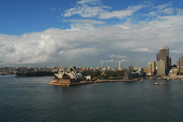 The Opera House on a Beautiful Day - Sydney