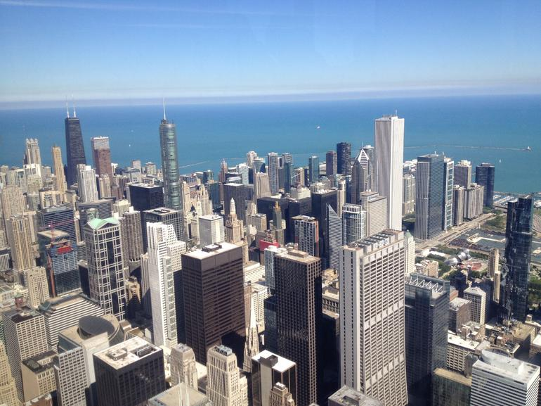 The view from the top! - Chicago