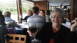 Lovely lunch on board , David C - October 2015