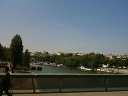 The carriage ride crosses the Seine twice, once across and then back., Christopher D - August 2010