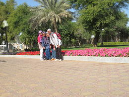 It was an amazingly green place despite that it is in a desert. , Azma H - December 2014