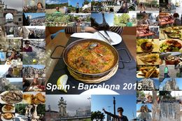 Enjoying the sights seeing and the food in Barce! , Jit Phoi L - November 2015