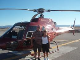 Photo of Las Vegas Skip the Line: Grand Canyon Skywalk Express Helicopter Tour David and Gayna