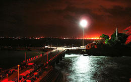 Mandovi River at night - July 2012