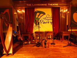 Photo of Dublin Dublin Traditional Irish House Party including Dinner and Show The empty stage before the show starts