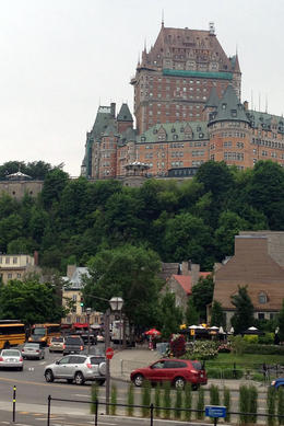 Chateau Frontenac, Jules & Brock - July 2012
