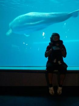 jose and D'Angelo in shedd acuarium , Jose H G - September 2012