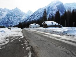 Photo of Venice Dolomite Mountains Small Group Day Trip from Venice Snow 3