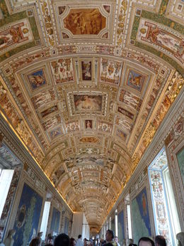 The Map Room, Vatican Museum , Mrs P M S - May 2015