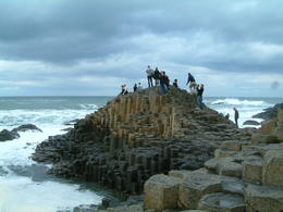 View of people scampering on the causeway , S R A HUGHES H - May 2013