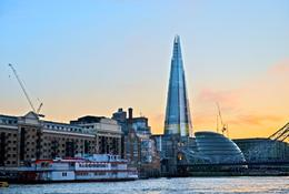 A view of the London Shard. - July 2012