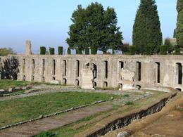 Photo of Rome Hadrian's Villa and Villa d'Este Half-Day Trip from Rome Trenches for the slaves