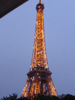 Photo of Paris Eiffel Tower, Paris Moulin Rouge Show and Seine River Cruise A sparkling tower