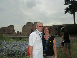 Photo of Rome Skip the Line: Ancient Rome and Colosseum Half-Day Walking Tour Beautiful Palentine Hill