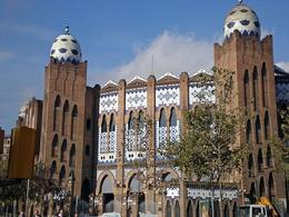 Another random Gaudi building, the bullring in Barcelona - they don't have bullfights there anymore though - May 2008