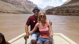 Photo of Las Vegas Grand Canyon West Rim Day Trip by Coach, Helicopter and Boat with Optional Skywalk fantastic day