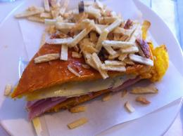 Cuban Sandwich with a Twist with Swee tBread Called Medianocheat - October 2013